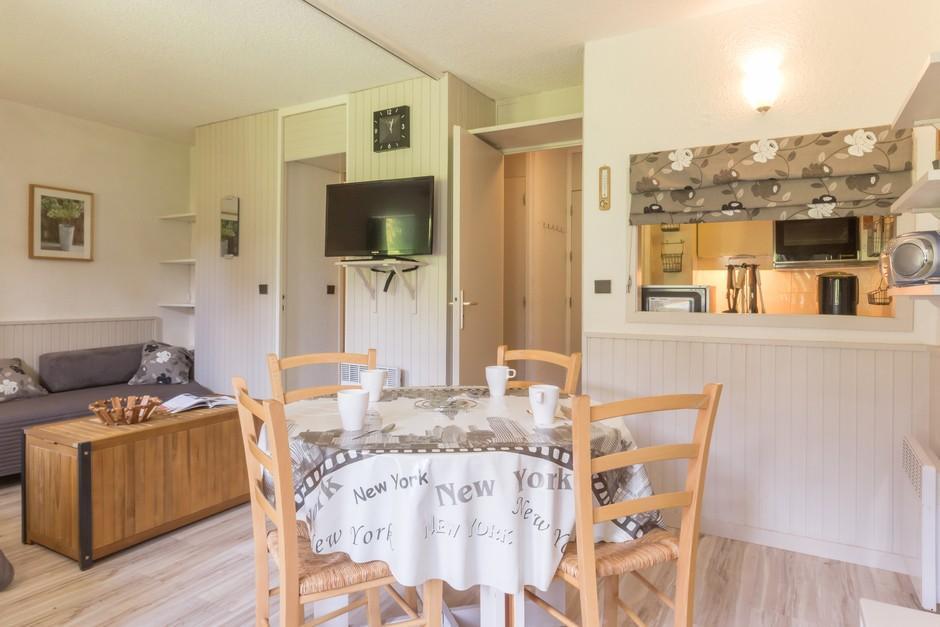 Location au ski Studio divisible 4 personnes (ROC22) - La Residence Les Roches - Montchavin - La Plagne - Séjour
