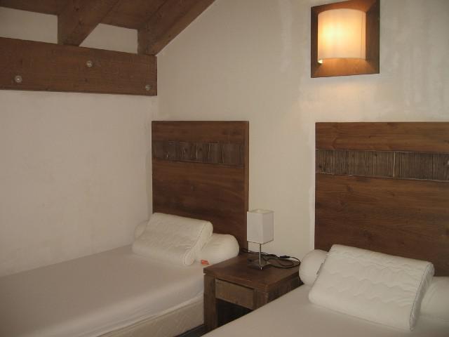 Location au ski Residence Chalets De Wengen - Montchavin - La Plagne - Extérieur hiver