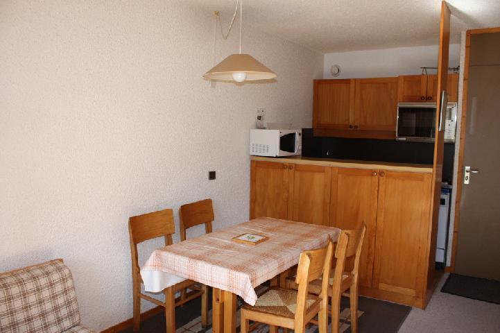 Location au ski Appartement 2 pièces 5 personnes (17) - Residence La Clef - Montchavin - La Plagne - Coin repas