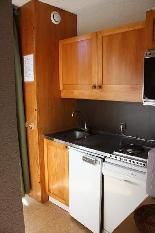 Location au ski Appartement 2 pièces 5 personnes (30) - Residence La Clef - Montchavin - La Plagne - Kitchenette