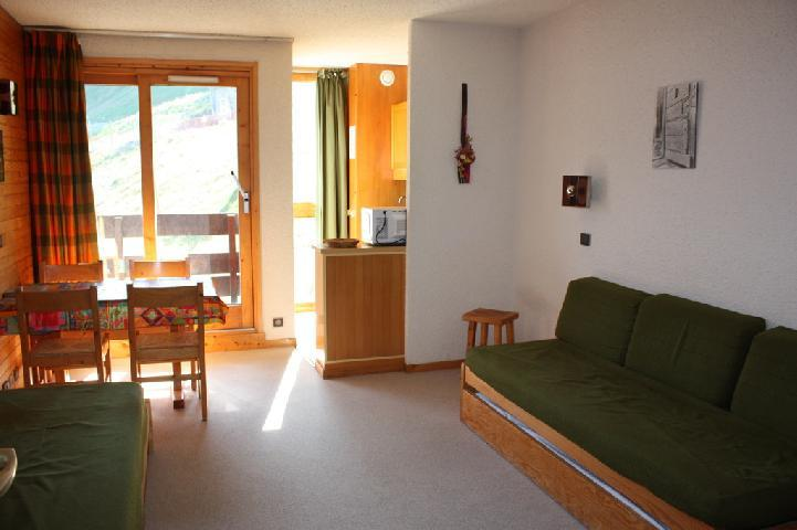 Location au ski Appartement 2 pièces 5 personnes (30) - Residence La Clef - Montchavin - La Plagne - Séjour