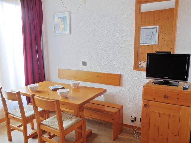 Location au ski Studio 3 personnes (009) - Residence Le De 1 - Montchavin - La Plagne