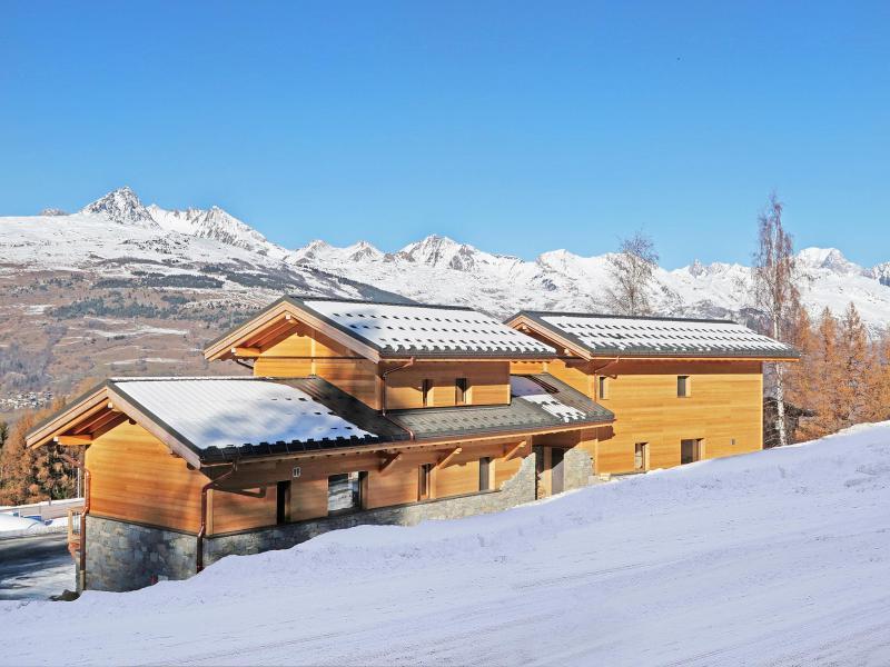 Wakacje w górach Chalet Paradise Star - Montchavin La Plagne - Zima na zewnątrz