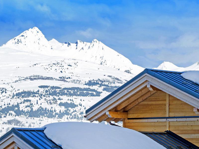 Vacaciones en montaña Chalet Ski Dream - Montchavin La Plagne - Invierno