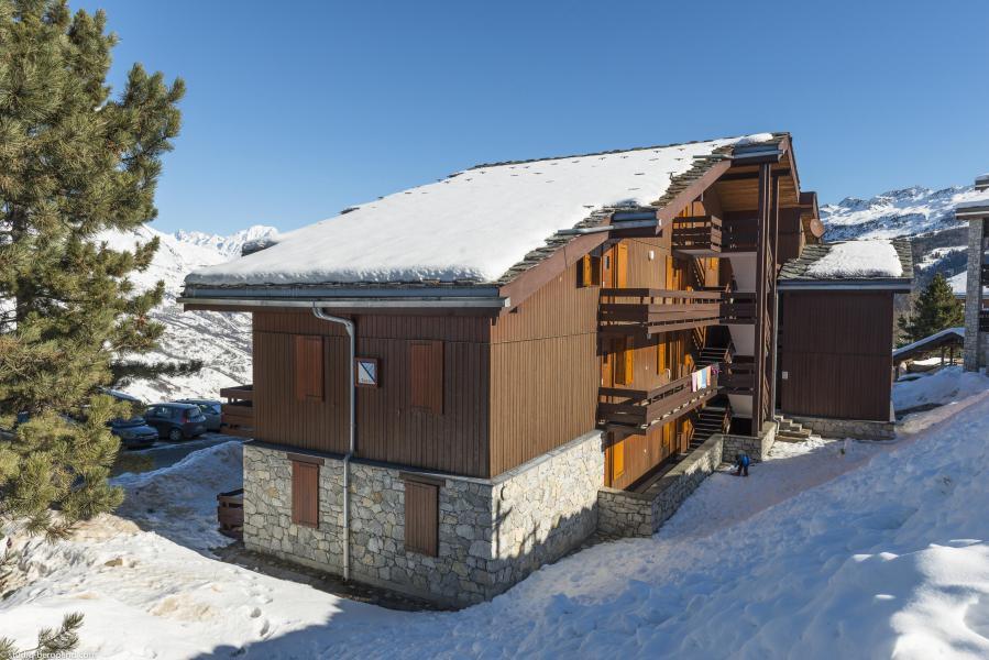 Vacances en montagne Appartement 2 pièces 4 personnes (009) - La Résidence Equerre - Montchavin La Plagne - Extérieur hiver
