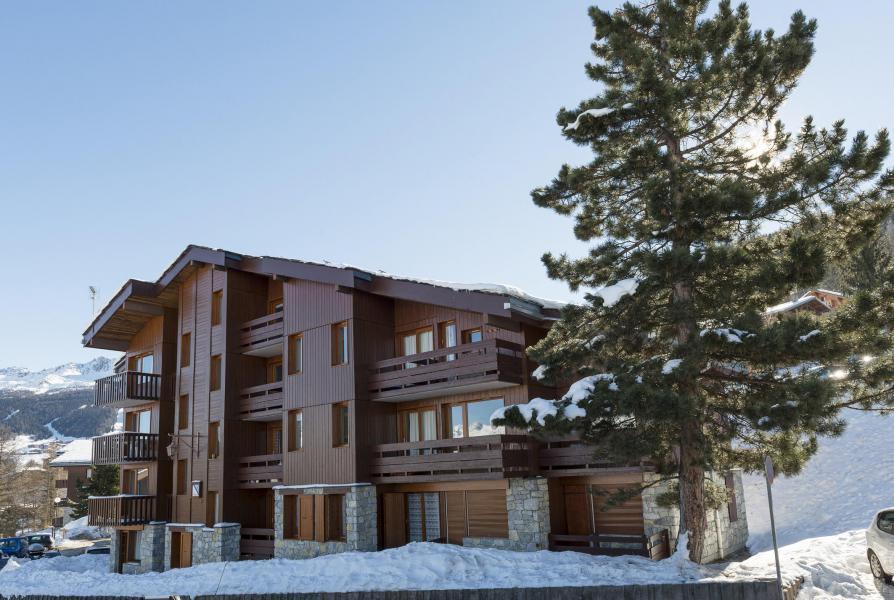 Location au ski Appartement 2 pièces 4 personnes (007) - La Résidence Equerre - Montchavin La Plagne - Extérieur hiver