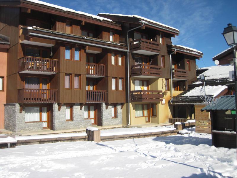 Holiday in mountain resort La Résidence la Traverse - Montchavin La Plagne - Winter outside