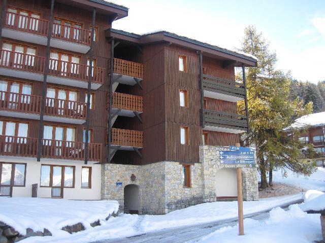 Holiday in mountain resort La Résidence le 3ème Dé - Montchavin - La Plagne - Winter outside