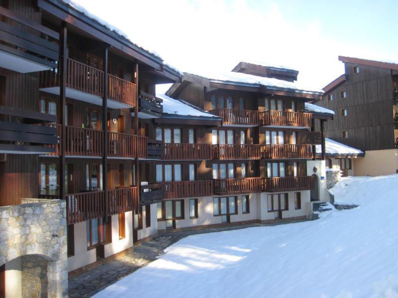 Holiday in mountain resort La Résidence le 3ème Dé - Montchavin La Plagne - Winter outside