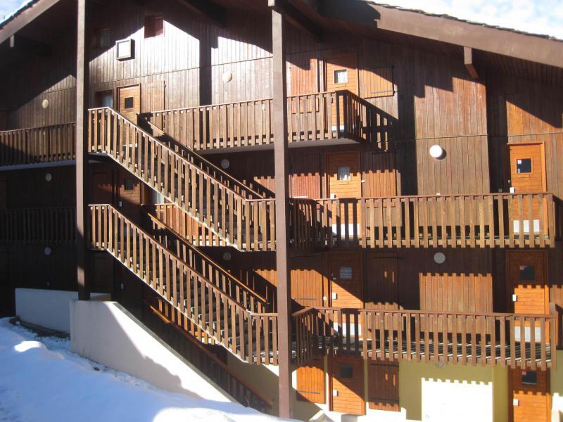 Vakantie in de bergen La Résidence le Dé 2 - Montchavin La Plagne - Buiten winter