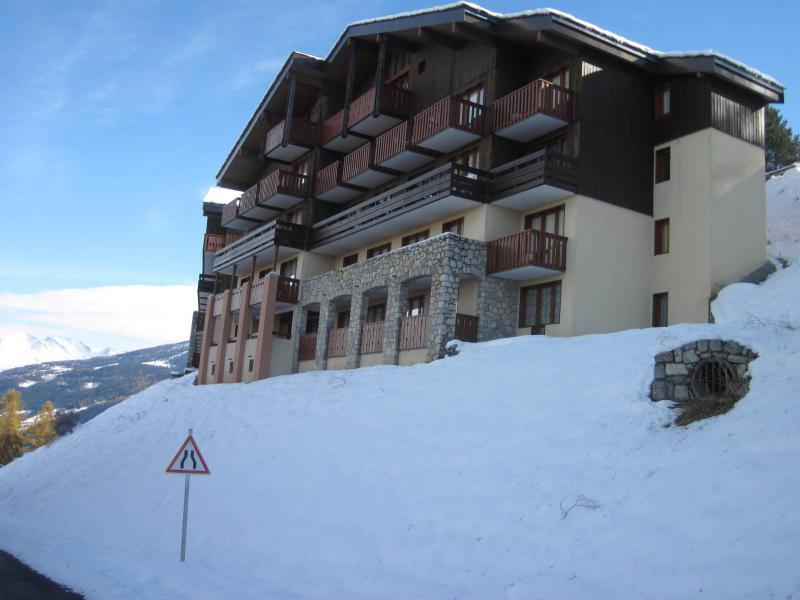 Holiday in mountain resort La Résidence le Sextant - Montchavin La Plagne - Winter outside