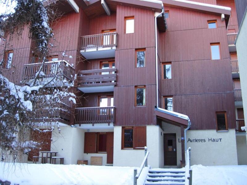 Vakantie in de bergen La Résidence les Avrières Haut - Montchavin La Plagne - Buiten winter