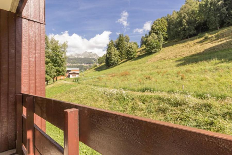 Location au ski Studio cabine 5 personnes (27) - La Résidence les Avrières Haut - Montchavin La Plagne - Balcon