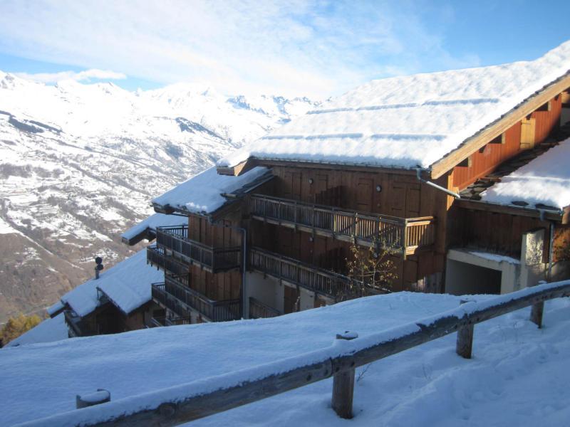 Holiday in mountain resort La Résidence les Chalets de Wengen - Montchavin La Plagne - Winter outside