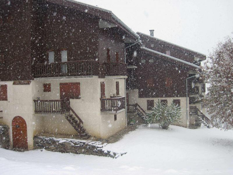 Holiday in mountain resort La Résidence les Côtes - Montchavin - La Plagne - Winter outside