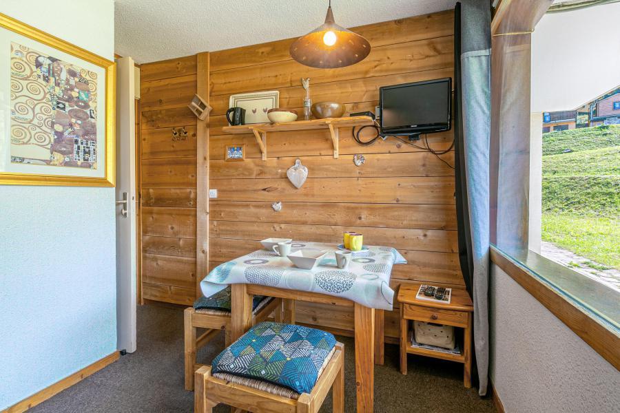 Location au ski Studio 2 personnes (019) - La Résidence les Pentes - Montchavin La Plagne