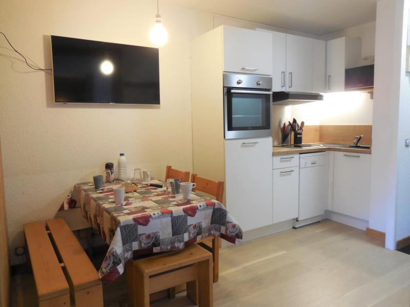 Location au ski Appartement 2 pièces 4 personnes (004) - La Résidence les Pentes - Montchavin La Plagne - Table
