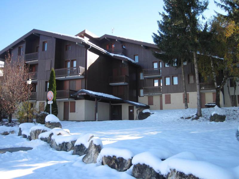 Holiday in mountain resort La Résidence les Roches - Montchavin La Plagne - Winter outside