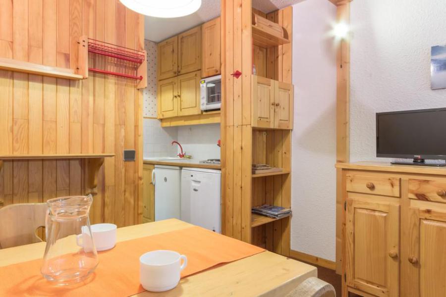 Location au ski Studio 3 personnes (102) - Maison Tresallet - Montchavin La Plagne