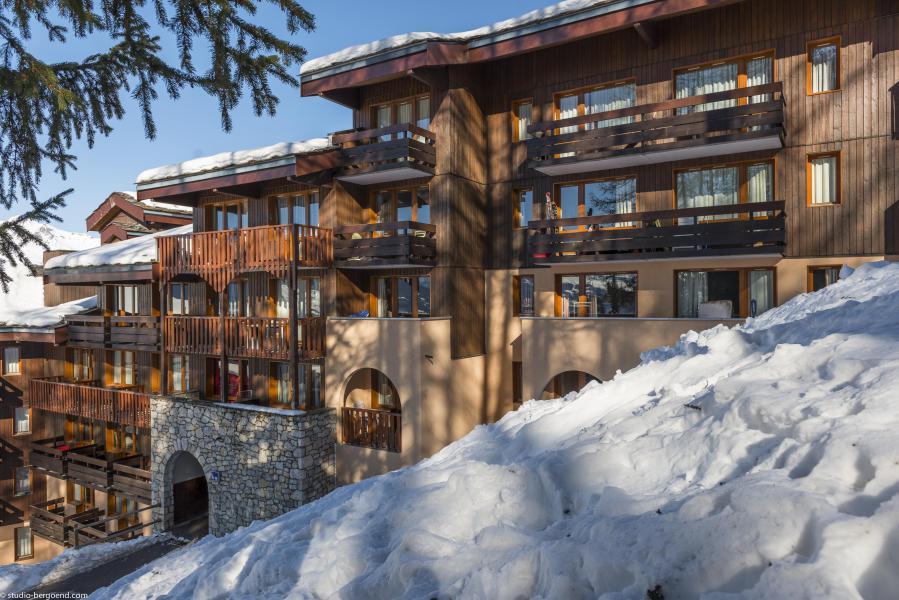 Holiday in mountain resort 2 room apartment 5 people (521) - Résidence 4ème Dé - Montchavin La Plagne - Winter outside