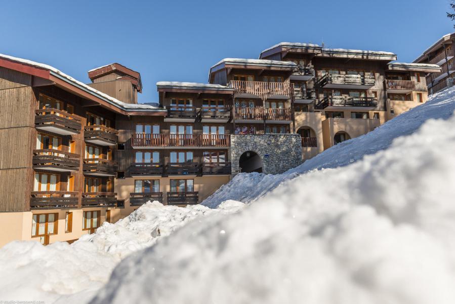 Vakantie in de bergen Appartement 2 kamers 6 personen (525) - Résidence 4ème Dé - Montchavin La Plagne - Buiten winter