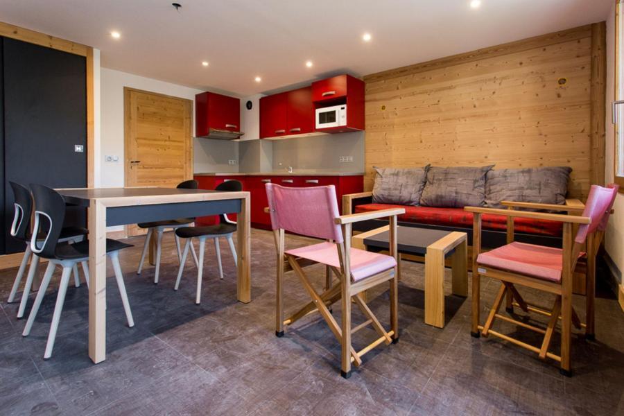 Location au ski Studio 5 personnes (117) - Residence Backgammon - Montchavin - La Plagne