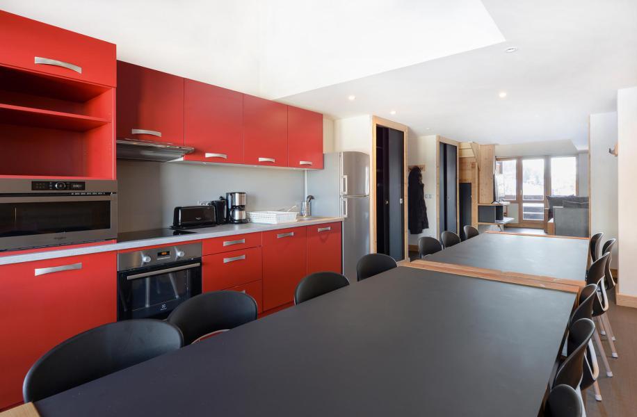 Аренда на лыжном курорте Апартаменты дуплекс 6 комнат 14 чел. (519) - Résidence Backgammon - Montchavin La Plagne