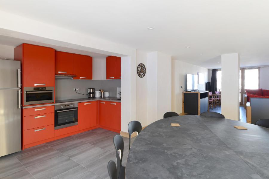 Аренда на лыжном курорте Апартаменты 6 комнат 13 чел. (303) - Résidence Backgammon - Montchavin La Plagne
