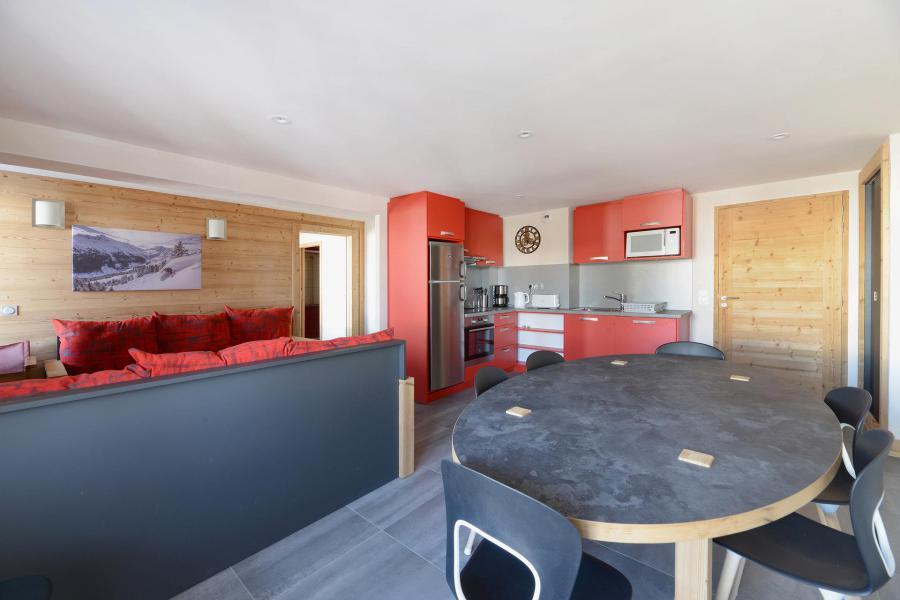 Аренда на лыжном курорте Апартаменты 4 комнат 8 чел. (313) - Résidence Backgammon - Montchavin La Plagne