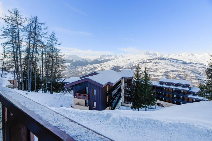 Аренда на лыжном курорте Квартира студия для 3 чел. (9) - Résidence Backgammon - Montchavin La Plagne