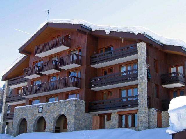 Vacances en montagne Studio 4 personnes (027) - Résidence la Boussole - Montchavin La Plagne - Extérieur hiver
