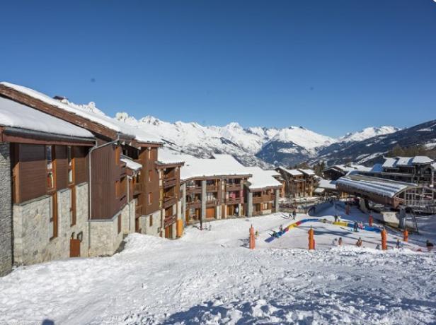 Location au ski Résidence la Clé - Montchavin La Plagne - Extérieur hiver
