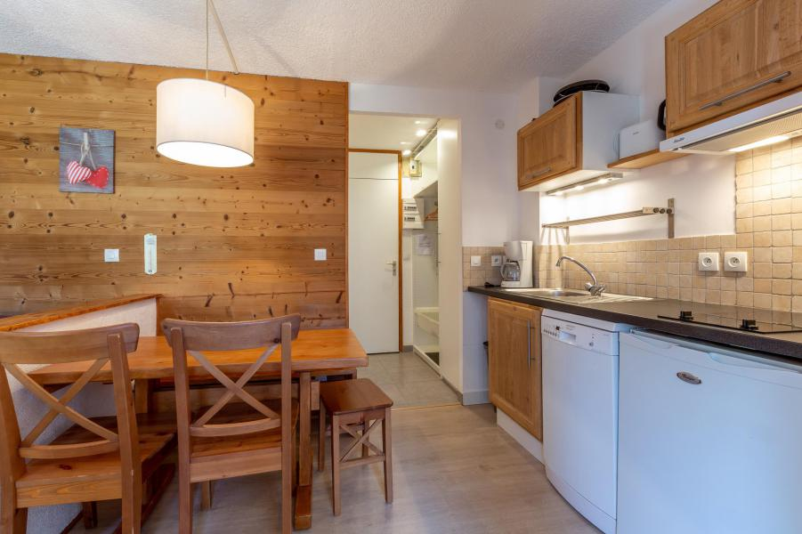 Location au ski Studio cabine 5 personnes (039) - Résidence la Clé - Montchavin La Plagne - Cuisine