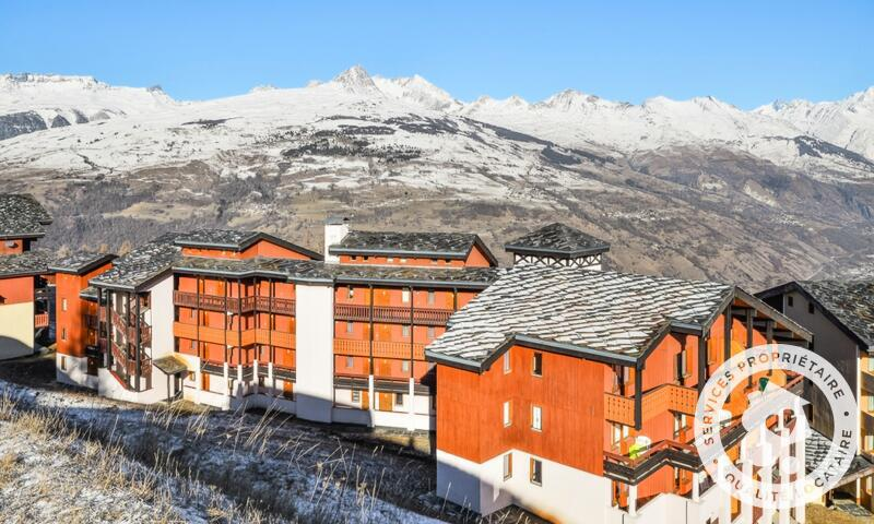 Vacances en montagne Studio 4 personnes (Confort 27m²) - Résidence la Marelle et Le Rami - Maeva Home - Montchavin La Plagne - Extérieur hiver