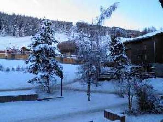 Location au ski Appartement 2 pièces coin montagne 4 personnes (033) - Résidence la Traverse - Montchavin La Plagne - Extérieur hiver