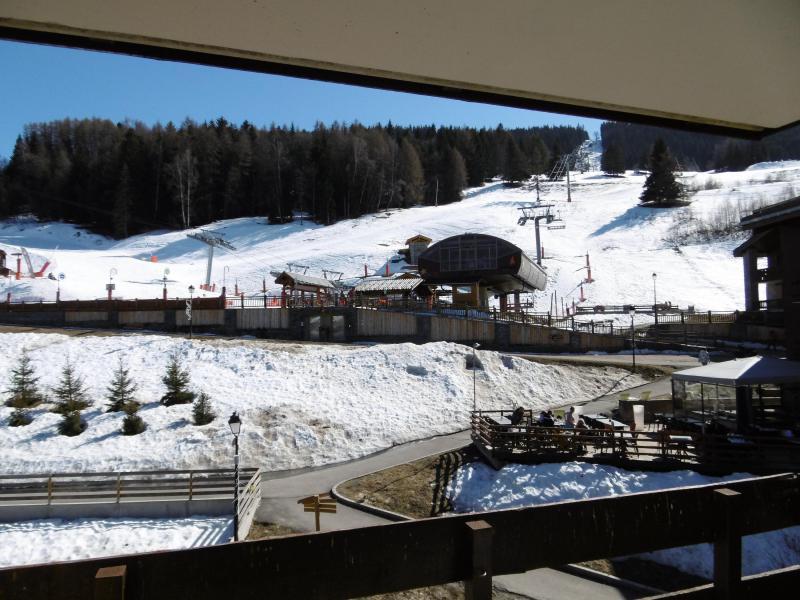 Ski verhuur Studio 4 personen (055) - Résidence la Traverse - Montchavin La Plagne - Buiten winter