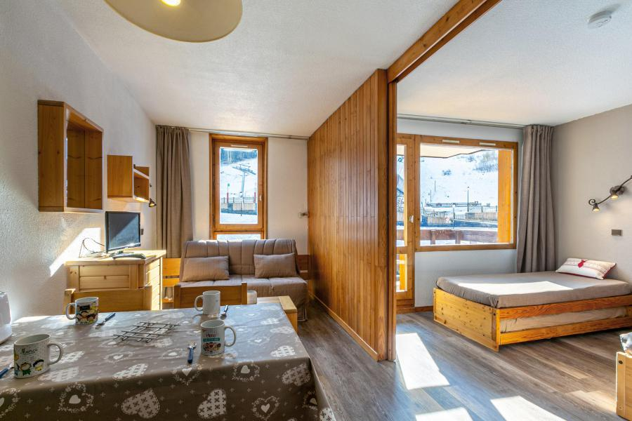Ski verhuur Studio 4 personen (055) - Résidence la Traverse - Montchavin La Plagne