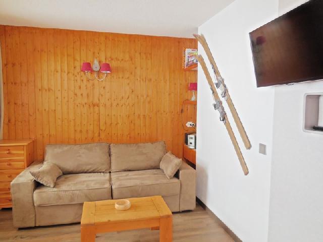 Ski verhuur Appartement 2 kamers 4 personen (029) - Résidence la Traverse - Montchavin La Plagne - Woonkamer