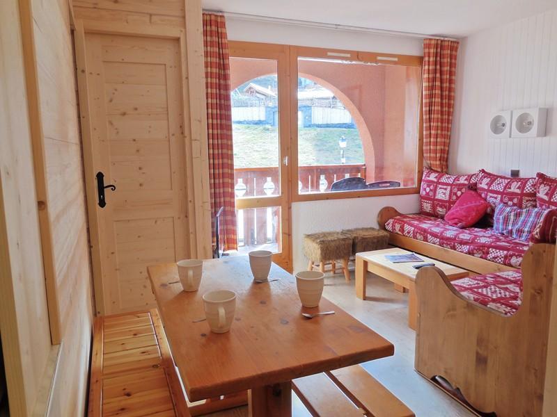 Ski verhuur Appartement 2 kamers bergnis 4 personen (033) - Résidence la Traverse - Montchavin La Plagne - Bedbank