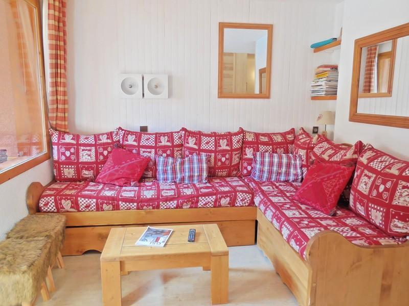 Ski verhuur Appartement 2 kamers bergnis 4 personen (033) - Résidence la Traverse - Montchavin La Plagne - Salontafel