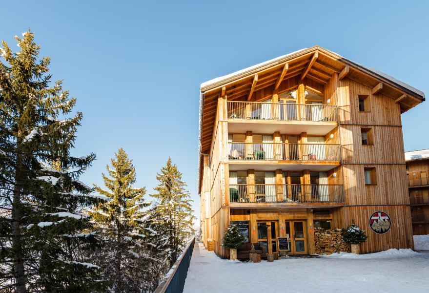 Location au ski Residence Lagrange Les 3 Glaciers - Montchavin - La Plagne - Extérieur hiver