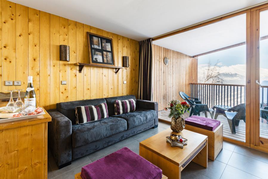 Location au ski Residence Lagrange Les 3 Glaciers - Montchavin - La Plagne - Canapé