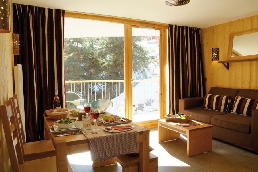 Location au ski Residence Lagrange Les 3 Glaciers - Montchavin - La Plagne - Coin repas