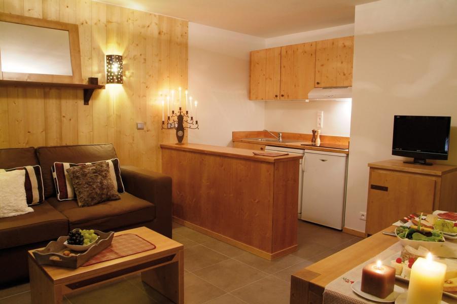 Location au ski Residence Lagrange Les 3 Glaciers - Montchavin - La Plagne - Kitchenette