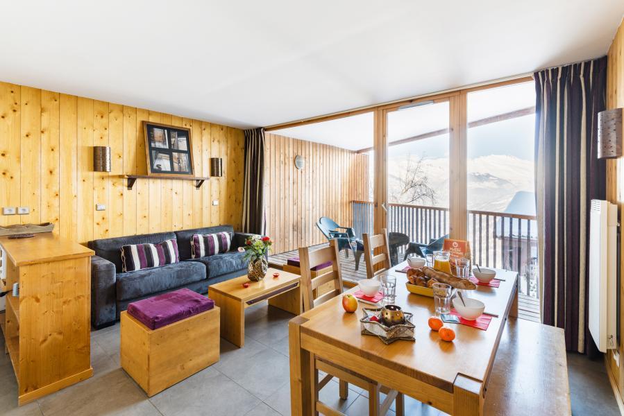 Location au ski Residence Lagrange Les 3 Glaciers - Montchavin - La Plagne - Séjour