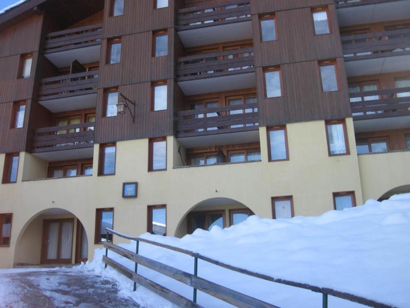 Vakantie in de bergen Résidence le 1er Dé - Montchavin La Plagne - Buiten winter
