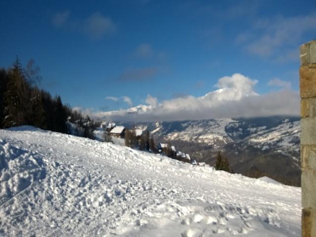Urlaub in den Bergen 2-Zimmer-Appartment für 4 Personen (436) - Résidence le Baccara 2 (l'Epervier) - Montchavin La Plagne - Draußen im Winter
