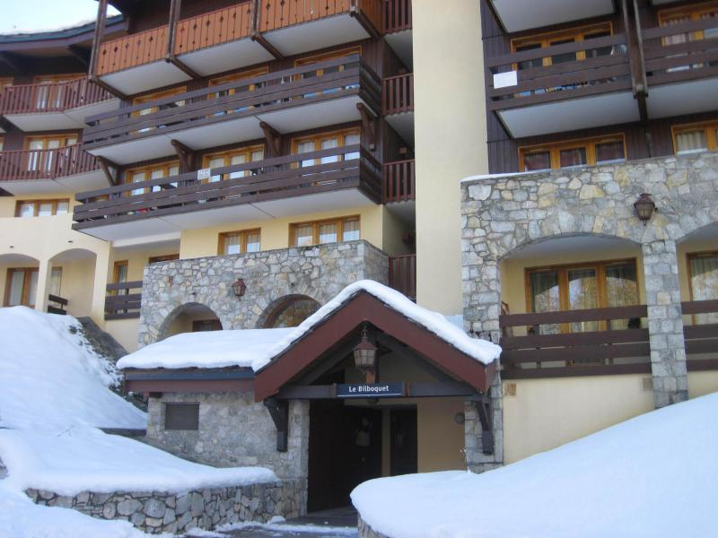 Ski verhuur Résidence le Bilboquet - Montchavin La Plagne - Buiten winter