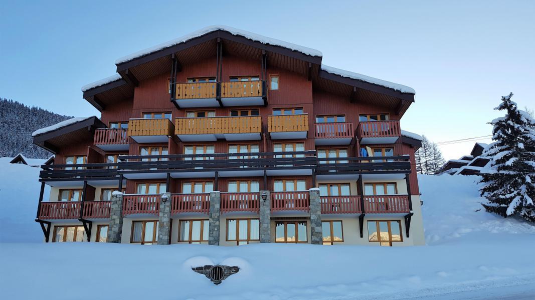 Location au ski Appartement 3 pièces 6 personnes - Résidence le Boulier - Montchavin La Plagne - Extérieur hiver