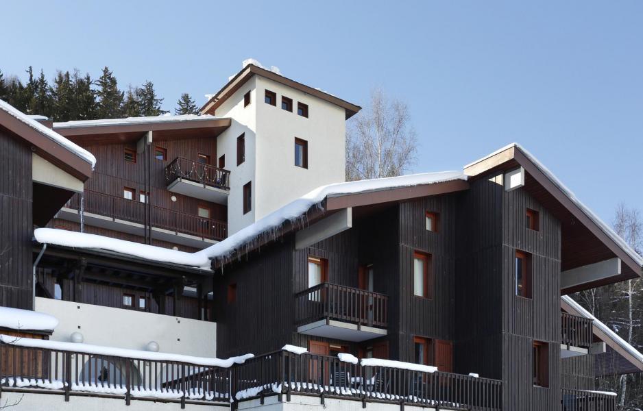 Location au ski Residence Le Chalet De Montchavin - Montchavin - La Plagne - Extérieur hiver